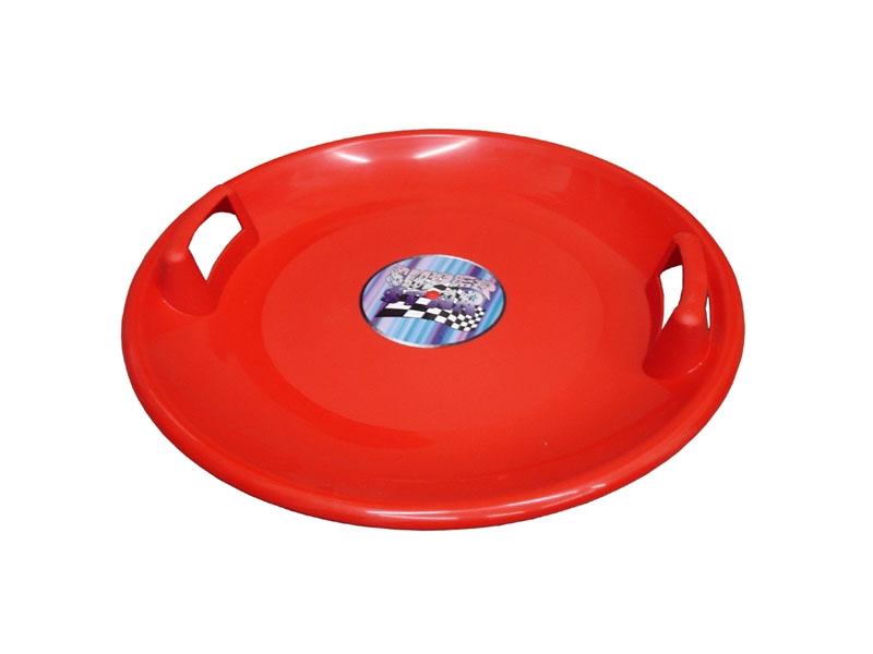 zima-talíř Superstar červený