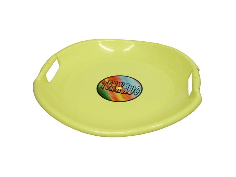 zima-talíř Tornado žlutý