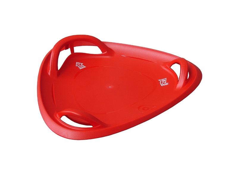 zima-talíř Meteor červený