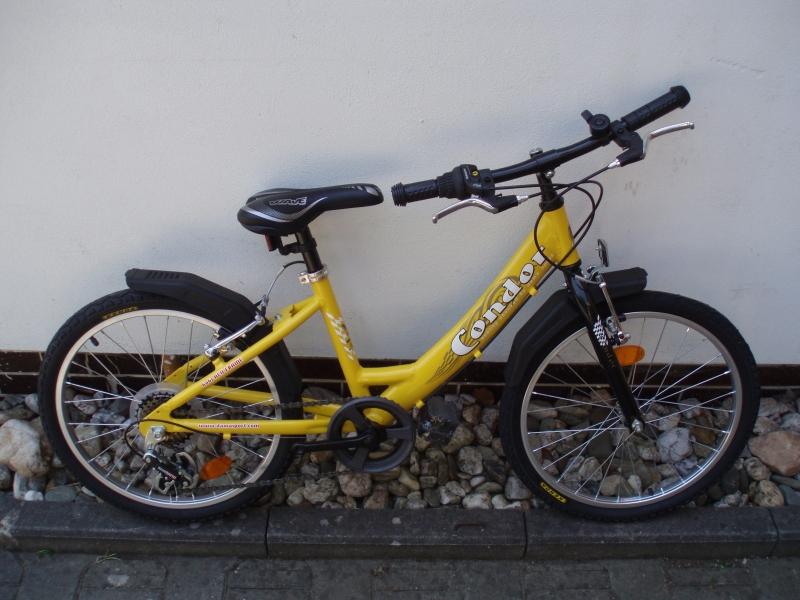 "JK Condor 20"" ALU 6sp. dívčí žluté"