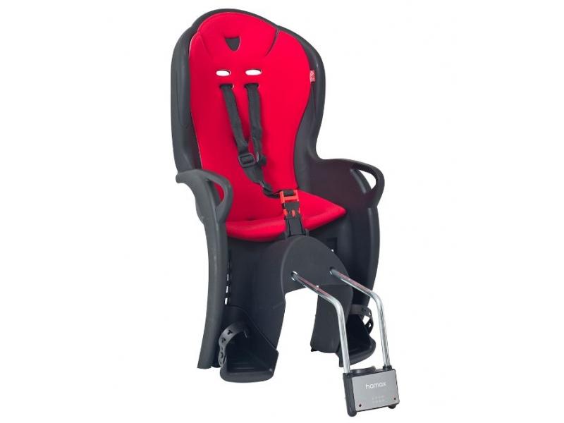 sedačka Hamax KISS samonosná, pevná, černo-červená