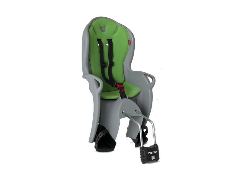 sedačka Hamax KISS samonosná, pevná, šedo-zelená