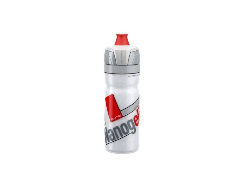 láhev termo 0.5l ELITE Nanogelite bílo-červená