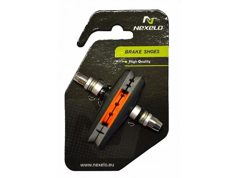 brzdové špalíky NEXELO MTB 3-směsové, závit