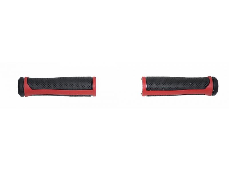 gripy NEXELO COMFORT 125mm černo-červené