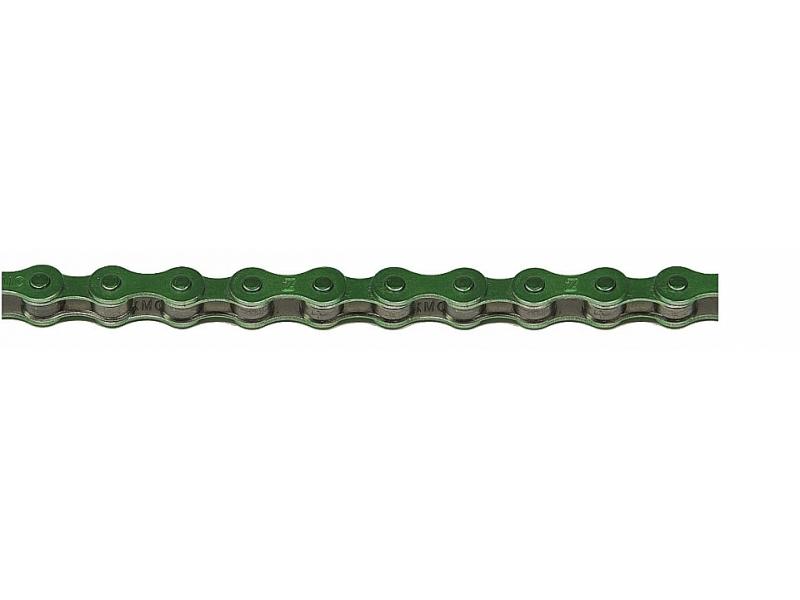 řetěz KMC S-1 zelený BOX 1-rychlostní
