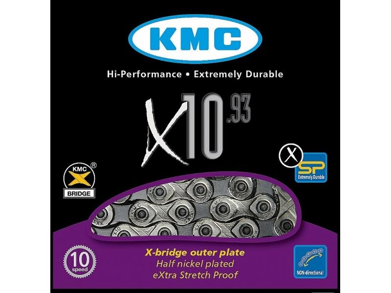 řetěz KMC X 10.93 BOX 10 kolo