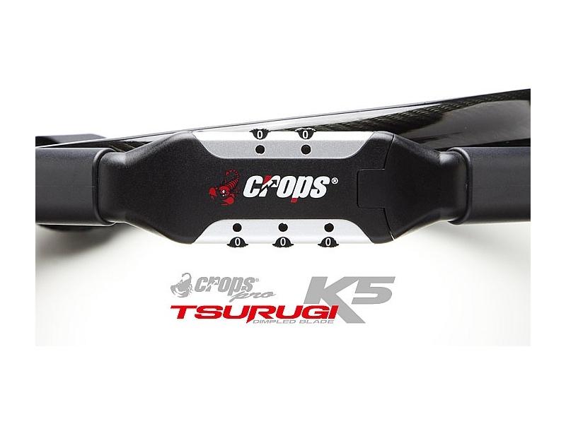 zámek CROPS K5 TSURUGI 10Dx180 singl.kód