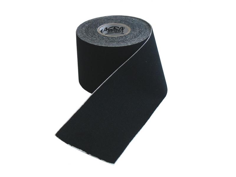 páska tejp.KINEZIO 5cm x 5m černá