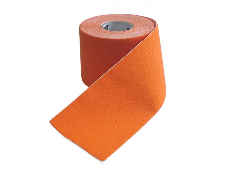 páska tejp.KINEZIO 5cm x 5m oranžová