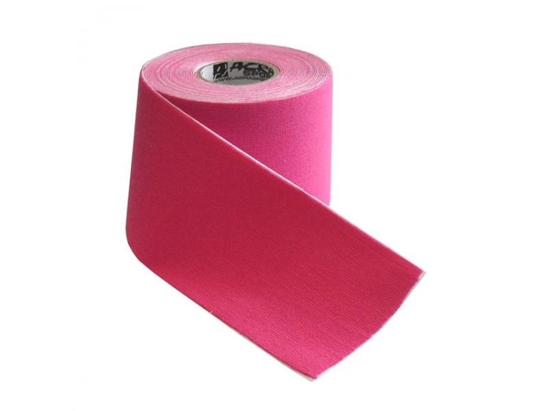 páska tejp.KINEZIO 5cm x 5m růžová