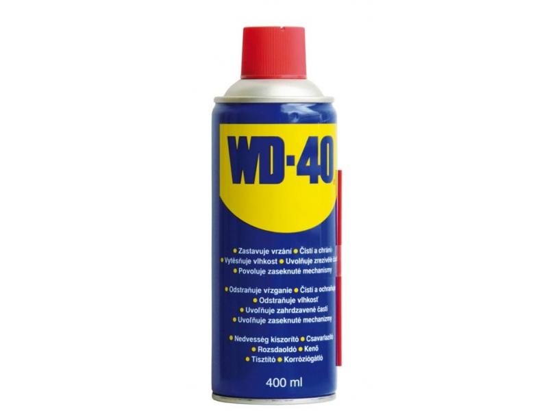 mazivo - olej WD40, sprej 400ml