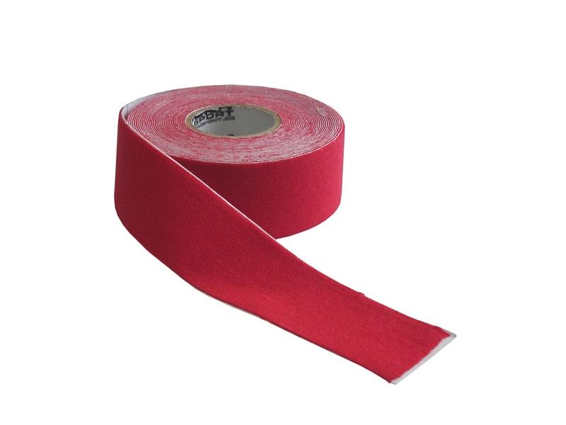 páska tejp.KINEZIO 2,5cm x 5m červená