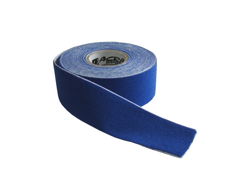 páska tejp.KINEZIO 2,5cm x 5m modrá