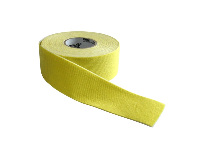 páska tejp.KINEZIO 2,5cm x 5m žlutá