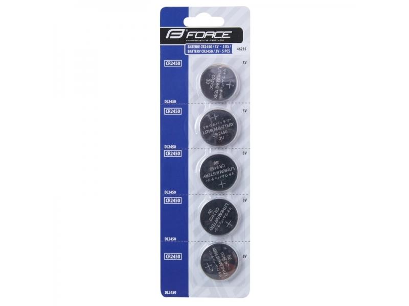 baterie mincová CR2450/3V 5ks