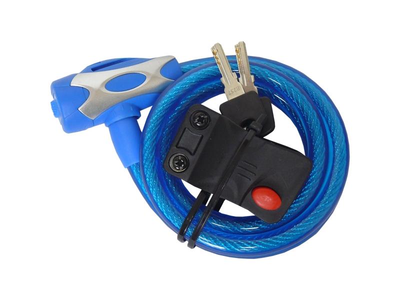 zámek TONYON TY-555 12x1200 modrý