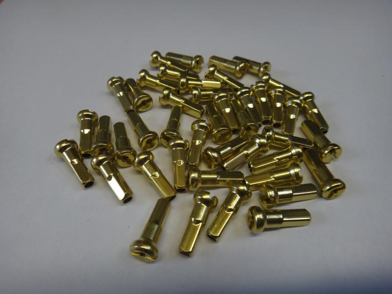 nipl 2/14 zlatý Alu CN SPOKE