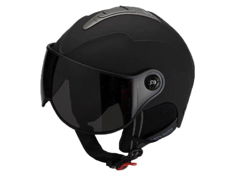 přilba lyžařská HAVEN VISOR černá S
