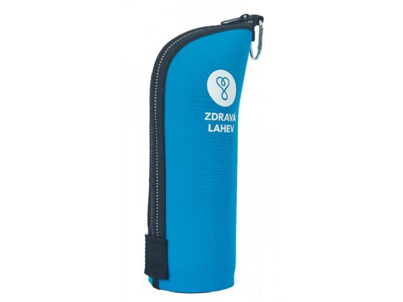 láhev RaB - termoobal CABRIO 0,7l reflexní modrý