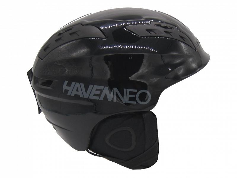 přilba lyžařská HAVEN NEO černá lesklá L/XL