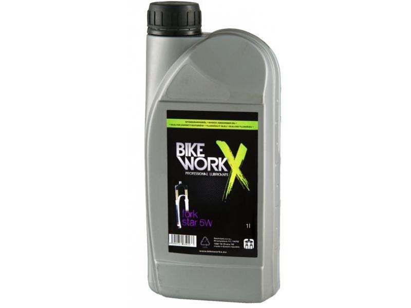 tlumičový olej- Bikeworkx Fork Star 5W