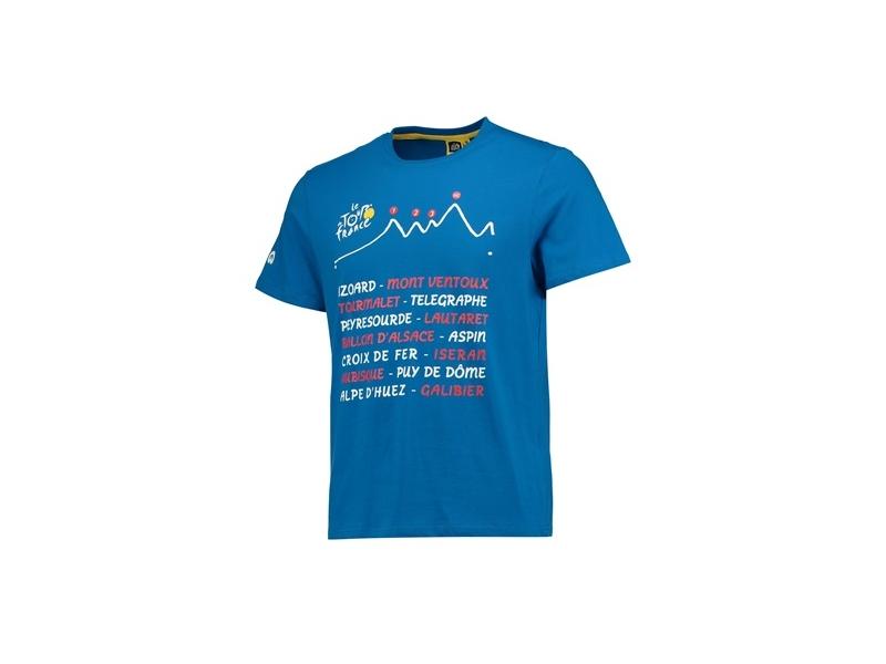 TdF triko modré pánské Graphic L