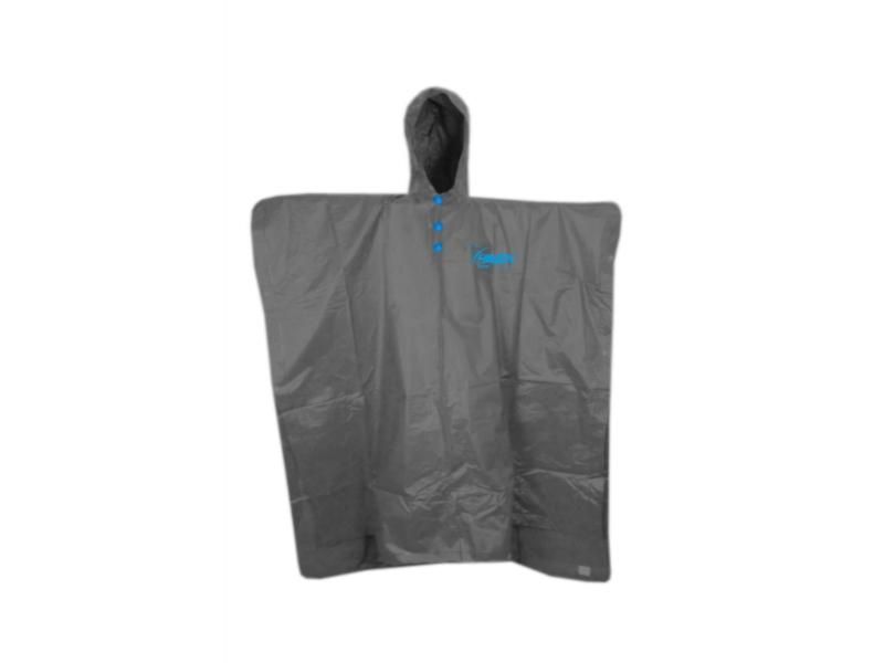 pláštěnka HAVEN II Poncho graphite šedo-modrá M
