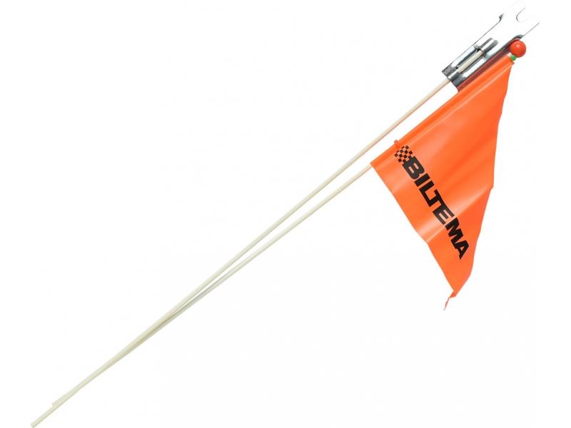 vlaječka bezpečnostní H-PC04 skládací 2 díly oranžová