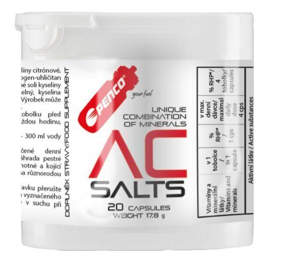 výživa - PENCO AC Salts proti křečím, 20 tablet blistr