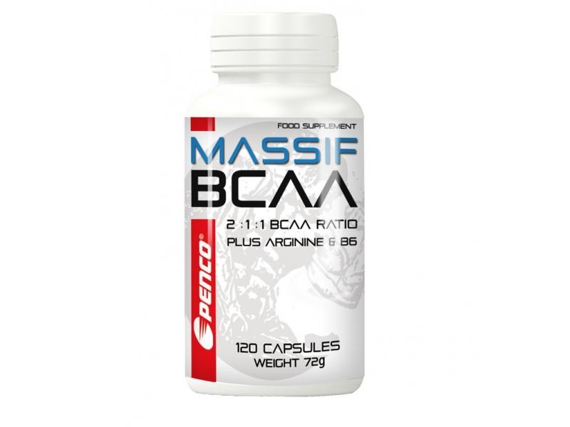 výživa - PENCO BCAA MASSIF aminokyseliny s vit.C a B6