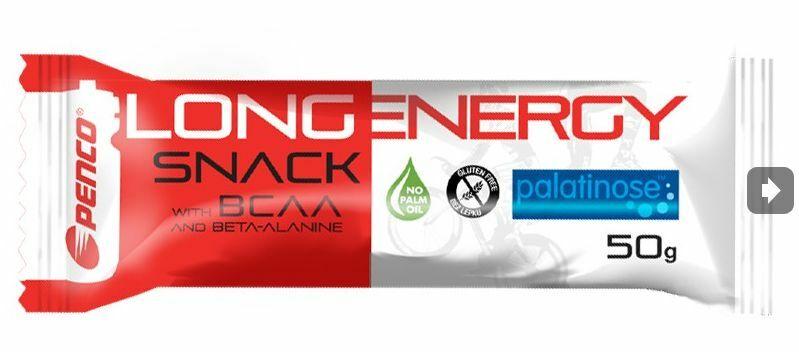 výživa - PENCO tyčinka LONG ENERGY SNACK 50g rum+kokos