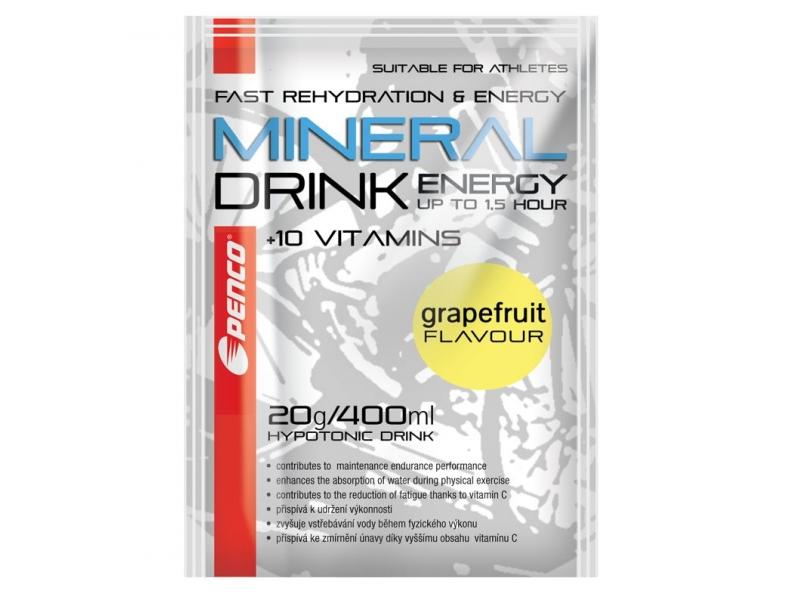 výživa - PENCO MINERAL DRINK 20g pro 0,5l nápoje, grep