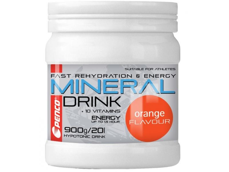 výživa - PENCO MINERAL DRINK 900g, pomeranč