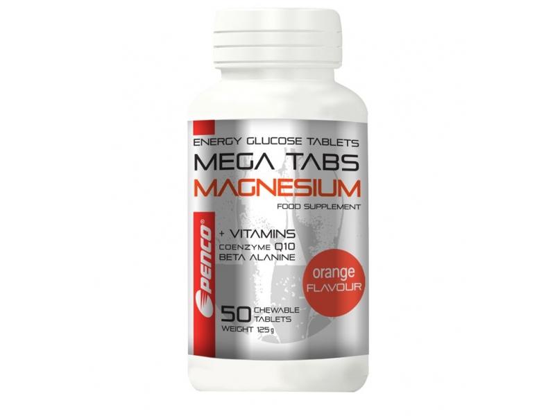 výživa - PENCO MEGA TABS MAGNESIUM 50 tablet pomeranč