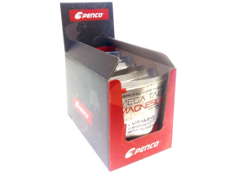 výživa - PENCO MEGA TABS MAGNESIUM BOX 24 tbl, pomeranč