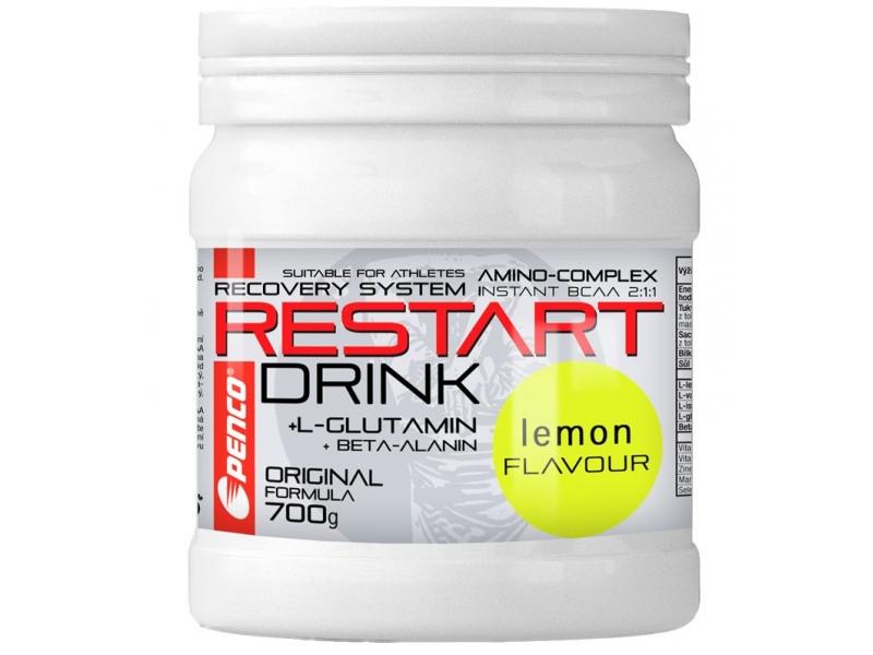 výživa - PENCO RESTART DRINK s BCAA,700g, citron
