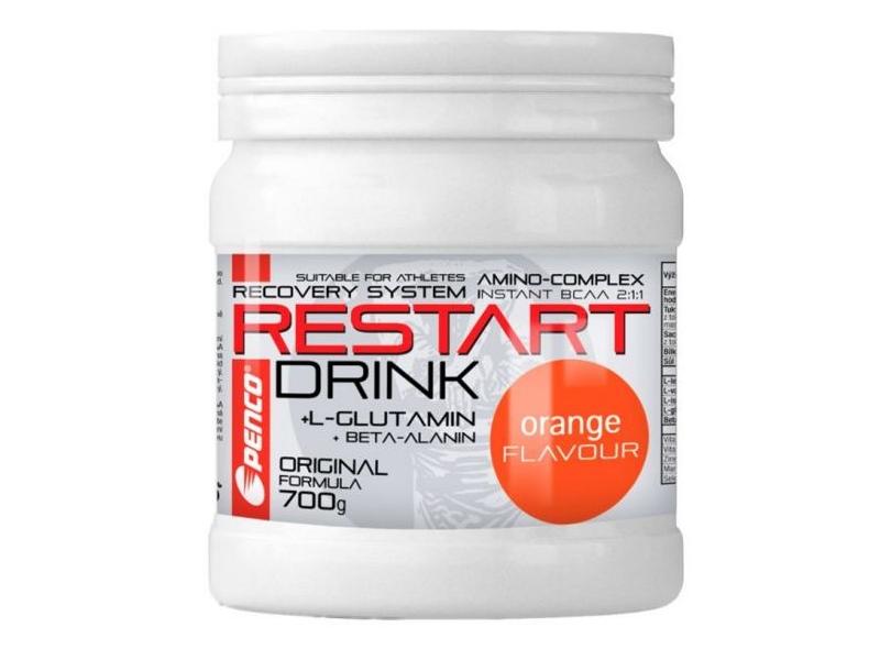 výživa - PENCO RESTART DRINK s BCAA,700g, pomeranč