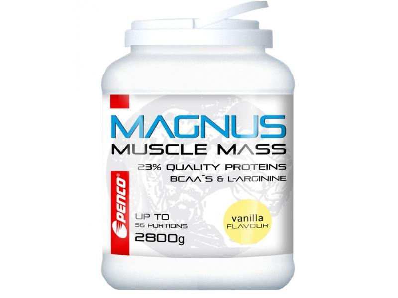 výživa - PENCO MAGNUS gainer vanilka 2800g