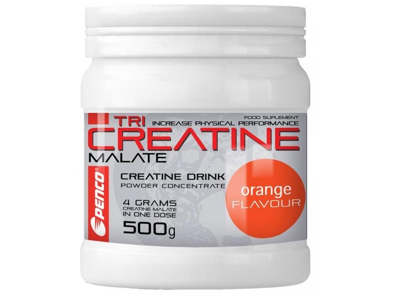 výživa - PENCO TRI CREATINE MALÁT 500g pomeranč