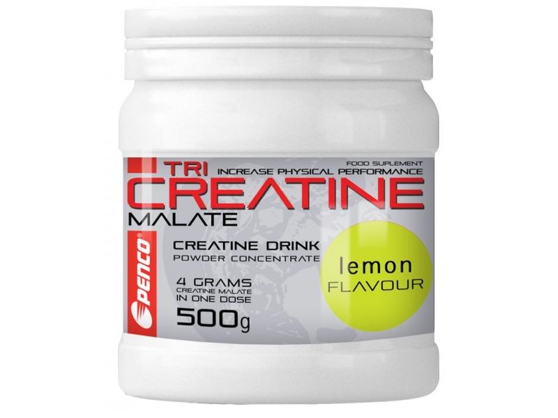 výživa - PENCO TRI CREATINE MALÁT 500g citron