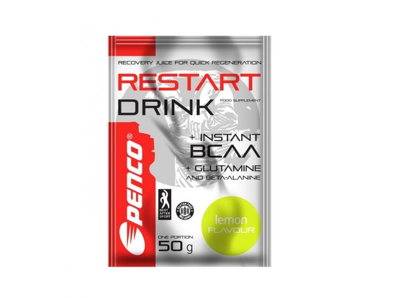 výživa - PENCO RESTART DRINK s BCAA,50g, citron