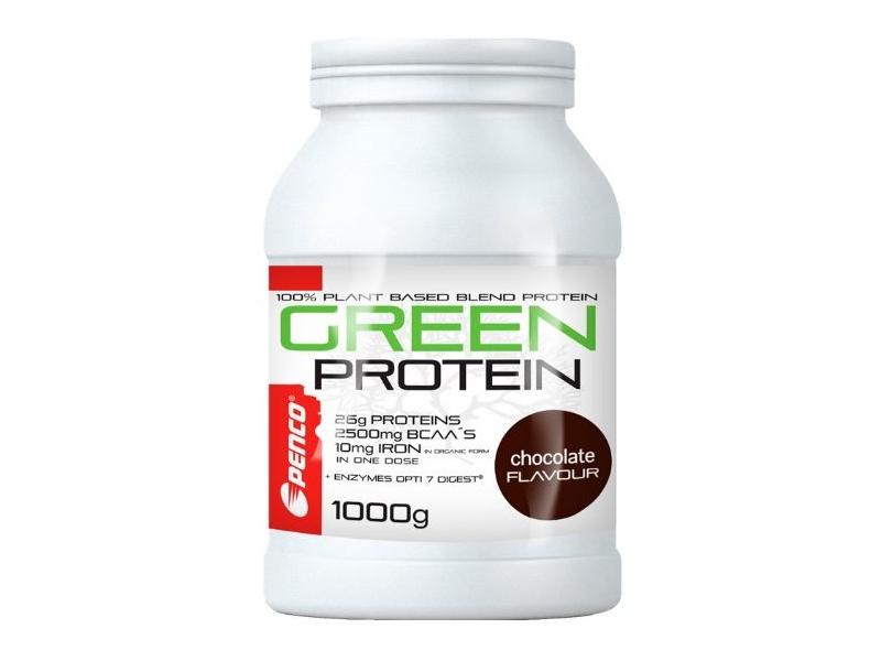 výživa - PENCO GREEN PROTEIN 1000g tmavá čokoláda