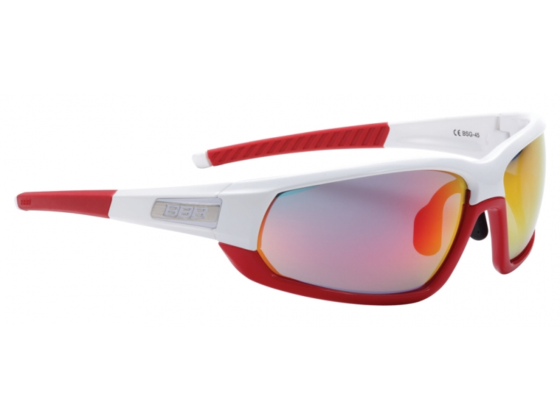 brýle BBB BSG-45 Adapt MLC bílo-červené