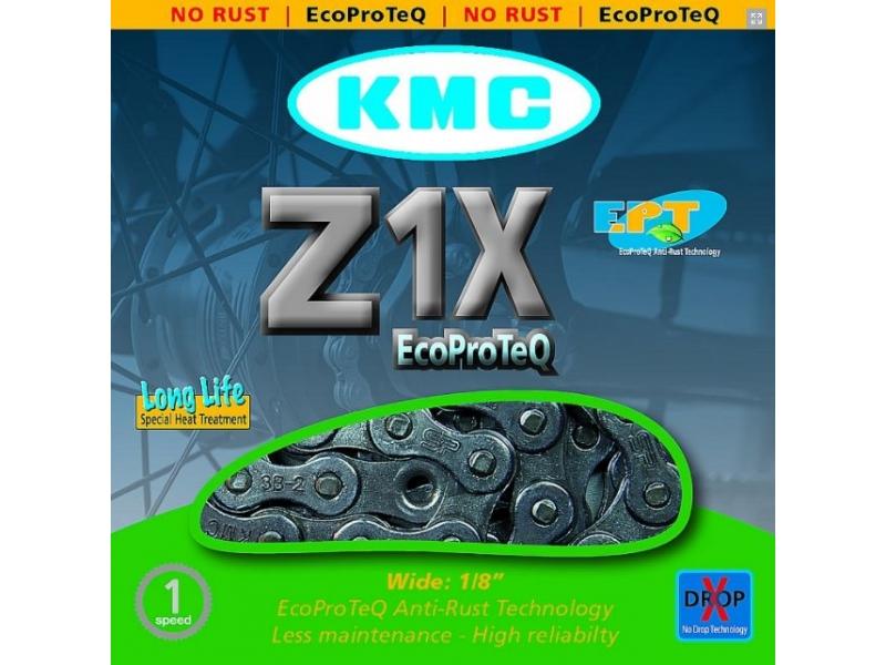 řetěz KMC Z-1-X EPT nerez BOX pro E-BIKE