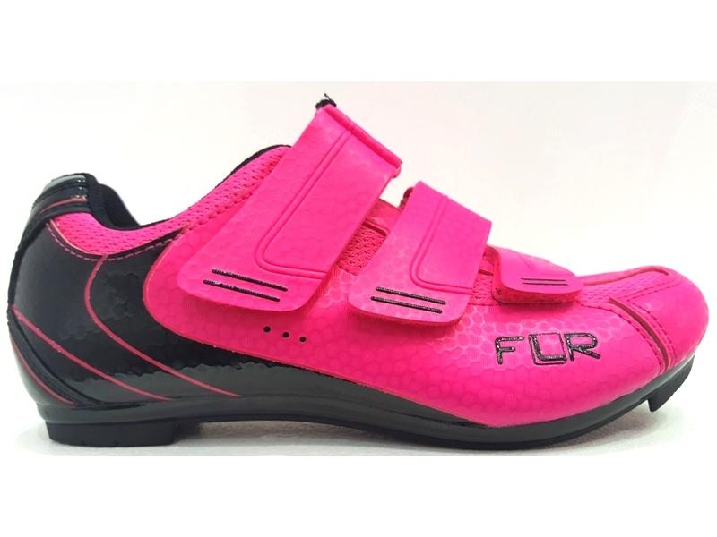 tretry silniční FLR F-35 Neon růžové 36