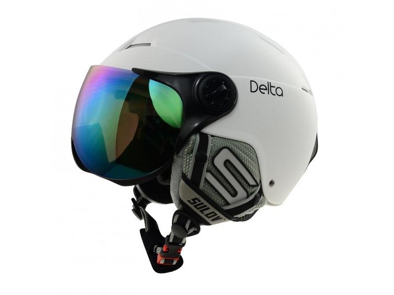 přilba lyžařská SULOV DELTA matná bílá L/XL