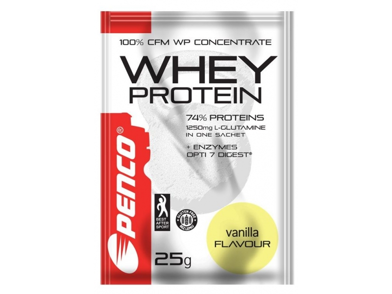 výživa - PENCO WHEY PROTEIN vanilka 25g
