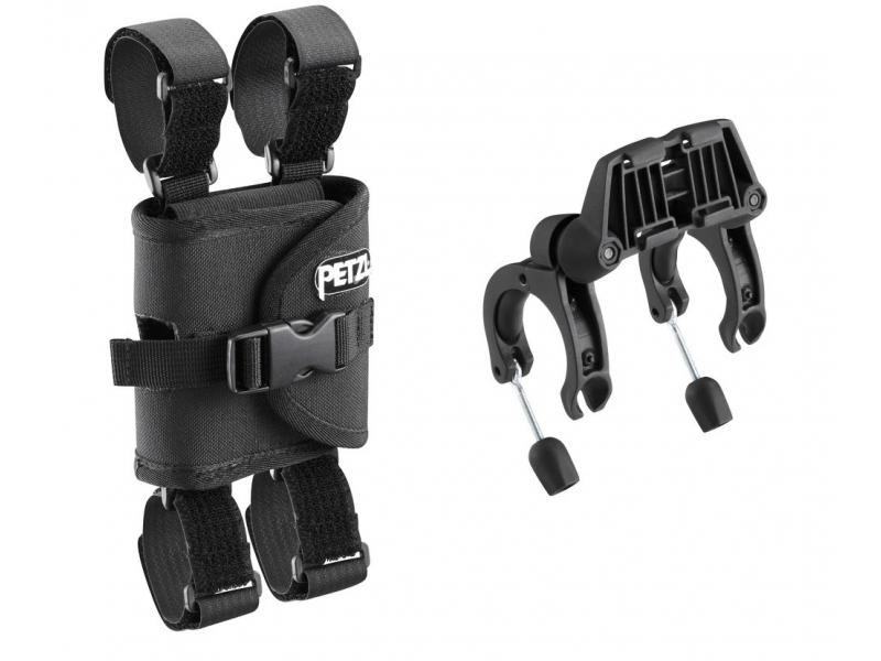 světlo - adaptér čelovky PETZL ULTRA na řidítka