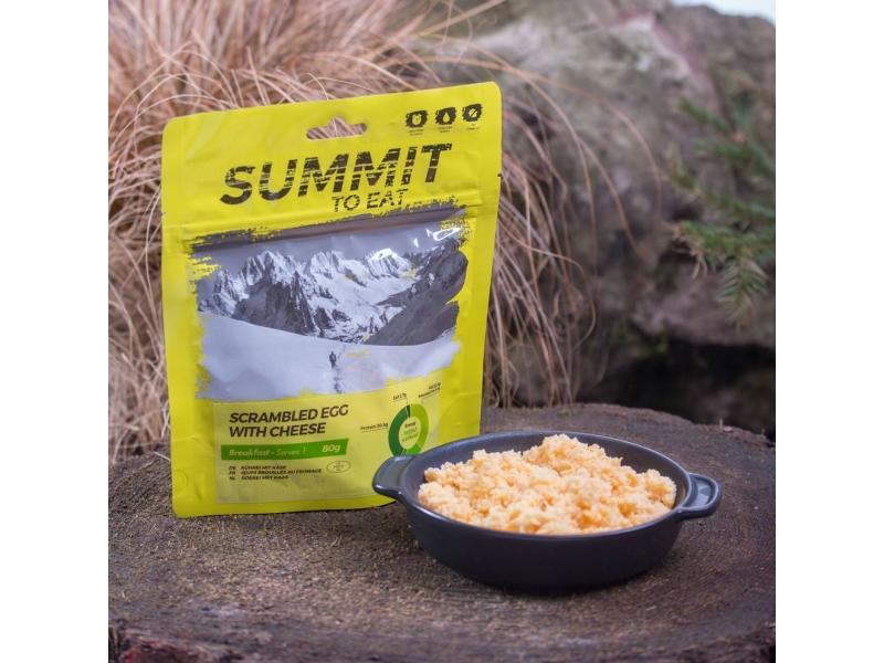 výživa - SUMMIT TO EAT - Míchaná vajíčka se sýrem